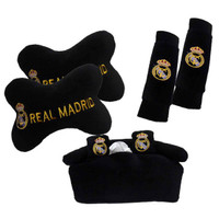 QIANA 9042 BANTAL MOBIL 3 IN 1 EXCLUSIVE CLUB REAL MADRID