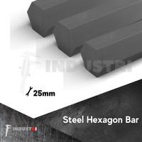 AS besi segi enam 25mm | Hexagon Bar harga per 1cm