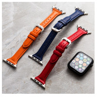 RedyJT Doublesided first layer leather strap substitute Apple Watc