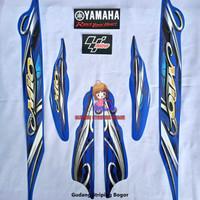 Striping List Bodi & Stiker Body Mio Sporty 2010 Biru
