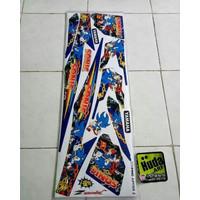 striping lis sticker variasi yamaha JUPITER Z lama burhan 2005-2009