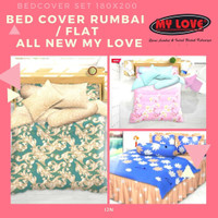 Bed Cover Rumbai All New My Love Badcover Bedcover Bedcover Set