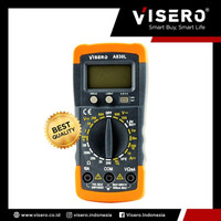 Multitester/ Avometer/ Multimeter Digital Visero Yellow (A-830L)