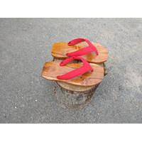 kayu bakiak Jepang sandal Geta
