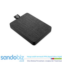 Seagate Harddisk One Touch SSD 1TB black