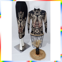 Top Batik couple / baju batik couple / batik set / rok set / bat