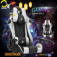Murah SAGE Premium Quality kursi Gaming game Chair bangku 180 derajat