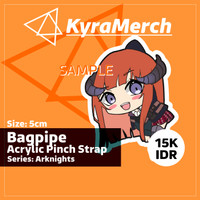 Pinch Strap Arknights Bagpipe