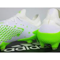Sepatu Bola Adidas Predator Mutator 20.1 Low White Green