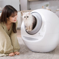 DH Meet Automatic Cat Litter Box Remote Control Smart