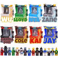 Motor Zane Jay Lego Game 12 Season Nya Kai Minifigure Lloyd Cole Arcad