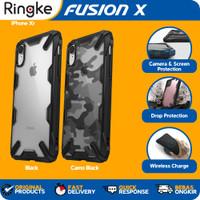 Ringke iPhone Xr Fusion X Softcase Hybrid Anti Crack Military Armor
