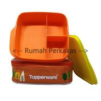 Tupperware Lolly Tup kuning ORANGE Free tas rantang makan anak