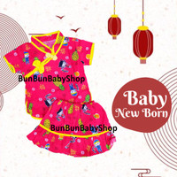 Murah Baju Cina Bayi Anak Perempuan Dress Setelan Baby Girl Ch