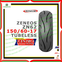 BAN ZENEOS ZN62 150/60-17 TUBELESS. BAN BELAKANG NINJA 250,R25,R15