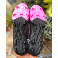 Sepatu Bola Puma Ultra 1.1 Black Luminous Pink
