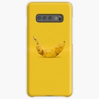 Casing Samsung S10 Plus Lite Abstract Yellow Banana Ge Case A00769