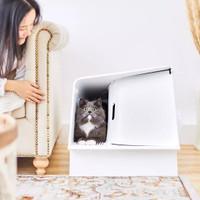 DH PETKIT Automatic Deodorizing Cat Litter Box Fully Enclosed