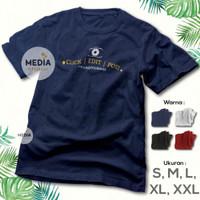 Click Kamera Photographer - Post Baju Premium Kaos Edit Fotografer 224