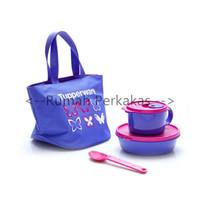 Tupperware Delight Set tas bekal makan dengan tas