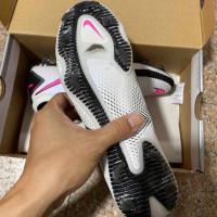 Sepatu Bola Nike Phantom GT Elite White Pink Blast Black