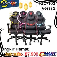 DISKON Rexus RGC-103 Gaming Chair Kursi Bangku Game for Gamer -