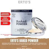 Ertos Baked Powder Bedak Padat Wajah Bedak Pemutih Wajah Cepat BPOM