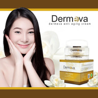 Skincare Anti Aging | Cream Penghilang Flek Hitam Usia 40 Dermeva