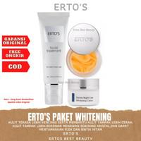 Ertos Paket Whitening ( Facial Treatment, Night Cream, Astaxanthine )