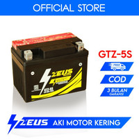 Aki Motor Yamaha New Vixion GTZ5S Zeus Accu Kering MF