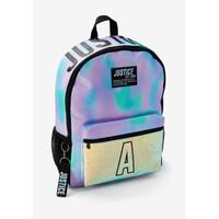 Justice Girls Dye Effect Stars Initial Backpack - Tas Ransel Anak