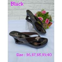 wanita bakiak sandal sandal klasik klompen jadul menarik