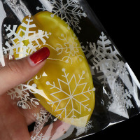 Faid 100PCS Cute Treat Bag Cookie Candy Gift Bags for ristmas apple
