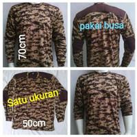 Kaos Baju Baju PDL PDL Pramuka Pramuka Full PDL Kaos PDL Lengan Loreng