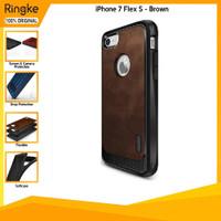 Ringke iPhone 7 Flex S Brown Anti Crack Spigen Softcase Slim Armor