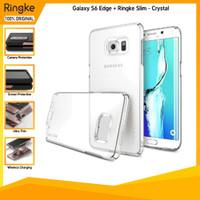 Ringke Galaxy S6 Edge Plus Slim Crystal Anti Crack Premium Hardcase