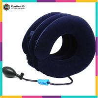Urijk Bantal Leher 3 Lapis Inflatable Air Massage Pillow - M133345