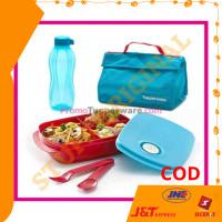 Tas Makan Set Tupperware - Lunch Box Set Tupperware FREE BOTOL MINUM