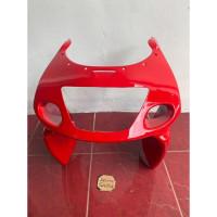 Fering Fairing Feiring Cover Body depan ninja rr old merah