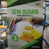 Jual Buku SMP Seni Budaya Kelas 9 Erlangga Berkualitas