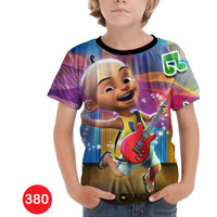 Kaos Upin Ipin 3D Baju Anak 3D Printing #COWO-380