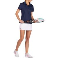 Baju polo tenis wanita kaos t-shirt tennis Badminton Polo Shirt Navy