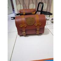 Tas Back Rack Untuk Motor Kawasaki W175 . Side Bag . Aksesor [ACC10]