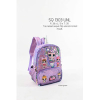 Remaja Lol Lucu Import Murah Little Anak Sequin Tas Pony Sekolah Unico