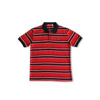 Stripe Red Laki Laki Anak Osella Polo Baju