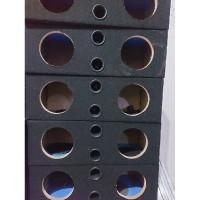 6IN SPEAKER DOBEL BOX SALON 6 KAYU INCH BOX DOUBLE