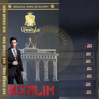 Kain Seragam Lifestyle Berlin jas setelan blazer Maxistyle per 10 cm