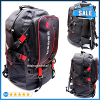 Top Tas Ransel Kanvas Aiger Grizzly New L style red Unik