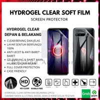 ANTI GORES HYDROGEL CLEAR Samsung A8 Plus DEPAN BELAKANG FULL COVER