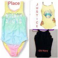 Place Justice Old Navy Baju Renang Anak Perempuan Swimsuit